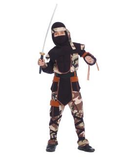 Ninja-Kostüm für Kinder - Camouflage