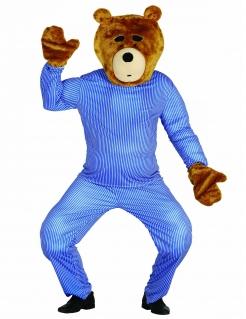 Teddybär-Set für Erwachsene braun