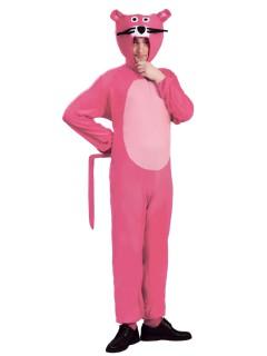 Panther Kostüm für Erwachsene rosa