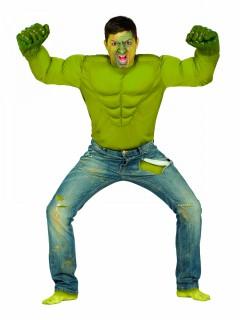 Grünes Monster Muskel-Shirt Superheld grün