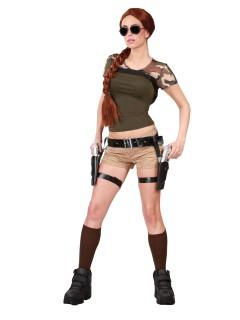 Gürtel mit Pistolenhalter und zwei Pistolen