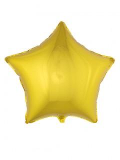 Sternförmiger Folienballon 70 cm golden