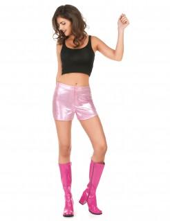 Disco Shorts kurze Hose rosa