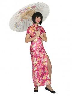 Japanerin-Damenkostüm rosa