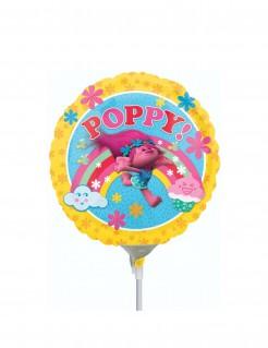 Trolls™ Folien-Luftballon Kindergeburtstag Lizenzware bunt 23cm