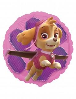 Paw Patrol™ Folienballon Stella und Everest rosa