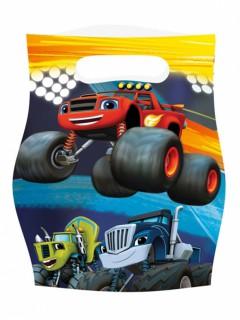 Plastiktüten Blaze und die Monstermaschinen™ 8 Stück