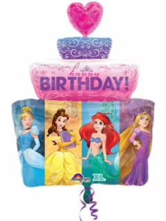 Disney-Prinzessinnen Folien-Luftballon bunt 71cm