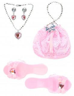 Accessoire-Set Prinzessinnen rosa