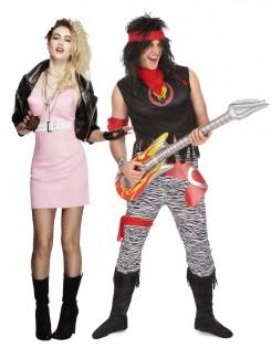 Retro-Rocker-Paarkostüm