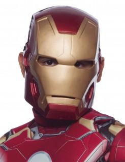 Iron Man™ Avengers™ Maske für Kinder rot-gold
