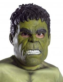 Hulk™ Avengers™ Maske für Kinder Lizenzartikel grün-schwarz