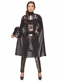 Star Wars Darth Vader Damenkostüm Lizenzware schwarz-grau