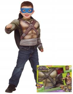 Ninja Turtles™ Kostüm mit Panzer für Kinder bunt