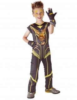 Kostüm Sendkai-Champion Zak Kinder schwarz