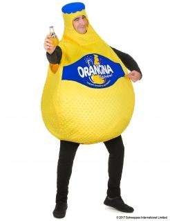 Orangina Kostüm Unisex Orangenlimonade Limoflasche gelb-blau
