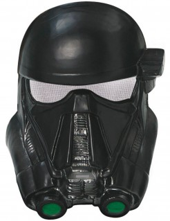 Star Wars Death Trooper Maske für Kinder Lizenzware schwarz