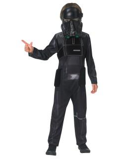 Deathtrooper Star Wars Deluxe Kinderkostüm Lizenzware schwarz