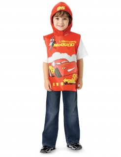 Cars-Kostüm für Jungen rot