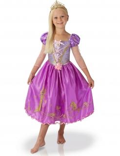 Rapunzel Lizenz-Kostüm für Kinder violett
