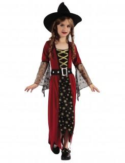 Hexenverkleidung für Mädchen