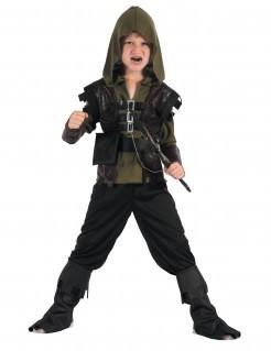 Bogenschützen-Kinderkostüm Abenteurer grün