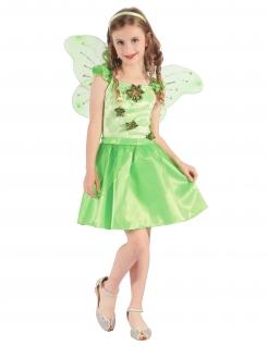 Feen-Kinderkostüm Waldelfe grün
