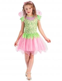 Fee Kinder-Kostüm grün-rosa