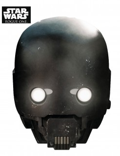 K-2SO™-Maske Star Wars™ Rogue One™ schwarz
