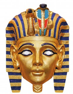 Pharaonen ägypter-Maske gold-bunt