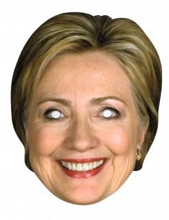 Hillary Clinton Papp-Maske Damen - hautfarben