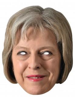 Maske britischen Premierministerin Theresa May hautfarben