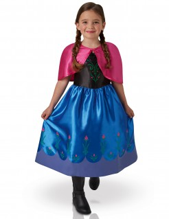 Frozen™-Kostüm für Mädchen blau-pink-schwarz