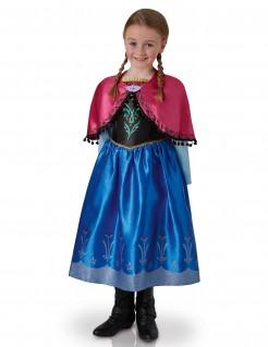 Anna Frozen - hochwertiges Mädchen-Kostüm bunt