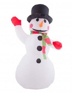 Aufblasbarer Schneemann 120 cm