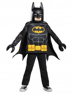 LEGO® Batman Movie Kinderkostüm-Set Lizenzware schwarz-gelb