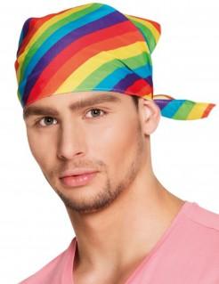 Regenbogen Bandana Kopftuch bunt