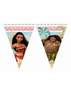 Vaiana Disney Wimpel-Girlande Lizenzartikel bunt 2,3m