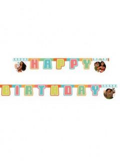 Vaiana Disney Happy Birthday-Girlande bunt 1,95m