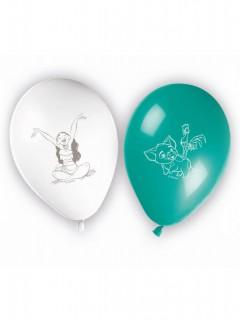 Vaiana Luftballons 8 Stück bunt