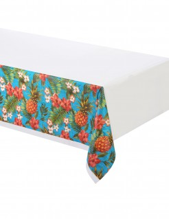 Hawaii Tischdecke Ananas Party-Deko bunt 137x259cm