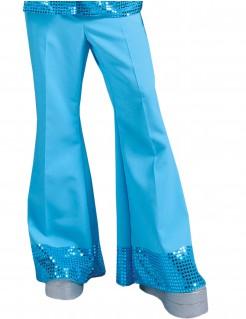 Herren-Discohose mit Pailletten in Blau