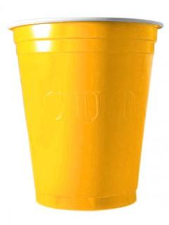 Party-Becher 20 Stück gelb 530ml