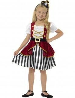 Edles Piraten-Mädchenkostüm