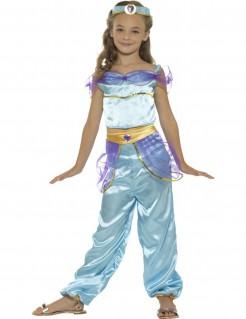 Arabisches Prinzessinnen-Mädchenkostüm blau