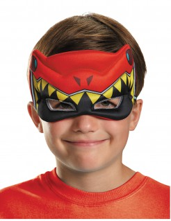 Power Ranger Kinder-Halbmaske Dino Charger rot-gelb-schwarz