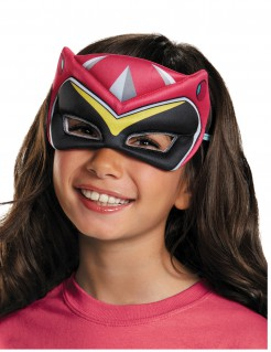 Power Ranger Kinder-Halbmaske rosa