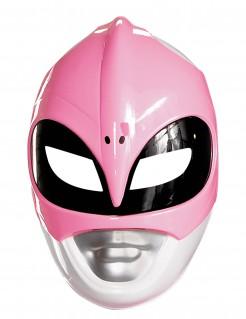 Power Rangers Maske Lizenzartikel pink-weiss