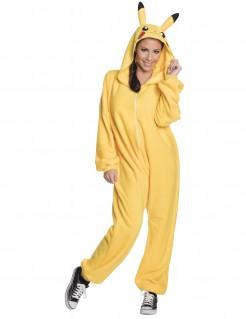 Offizielles Pikachu Pokémon™ Damenkostüm gelb-schwarz