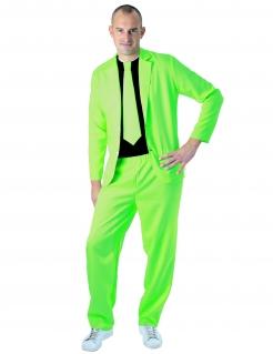 Anzug für Herren neongrün